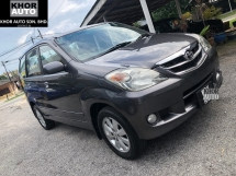 2008 TOYOTA AVANZA 1.5G (A) ONE OWNER CONDITION