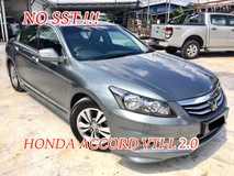 2012 HONDA ACCORD 2.0 VTI-L (A) 1 OWNER NEW FACELIFT ORIGINAL PAINT