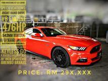 2016 FORD MUSTANG GT 5.0 V8 (unregistered) below market price