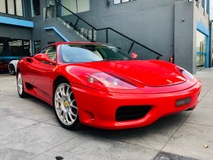 2004 FERRARI 360 MODENA 3.6 V8 (M) WELL MAINTAINED