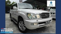 2004 TOYOTA LAND CRUISER 2004/2005 Toyota LAND CRUISER 4.7 V8 1 Owner