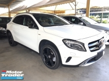 2014 MERCEDES-BENZ GLA GLA250 2.0 AMG Edition 1 Turbocharged 211hp Panoramic Roof 2 Memory Bucket Seat Automatic Power Boot Intelligent LED Multi Function Paddle Shift Steering Reverse Camera Bluetooth Connectivity Unreg