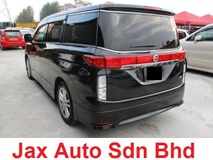 2010 NISSAN ELGRAND 350HIGHWAY STAR BLACK LEATHER URBAN SELECTION HIGH PERFORMANCE SPEC