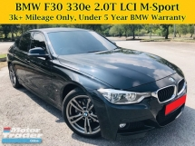 2017 BMW 3 SERIES F30 LCI 330e 2.0T M Sport Full Service Under BMW 5 Year Warranty Free Service 328i 330i