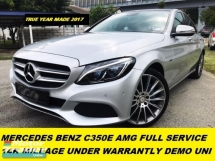 2017 MERCEDES-BENZ C-CLASS C350E AMG LINE FULL SERVICE RECORD UNDER WARRANTLY 14K MILEAGE