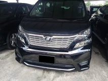 2010 TOYOTA VELLFIRE 2.4 Z PLATINUM (ACTUAL YR MADE 2010)