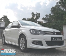 2012 VOLKSWAGEN POLO 1.6 Sedan,6 Speed Gear Box,Very Low Mileage Only 57k km With VW Service Record,Original Body Paint,Excellent Condition Like New,Free Test Drive.