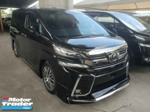 2017 TOYOTA VELLFIRE 2.5ZG Edition Sunroof 2 Power Door Power Boot Modellista Bodykit Local AP Unreg