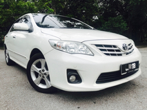 2014 TOYOTA ALTIS 1.8 G (A) FULL SEVICE RECORD LIKE NEW