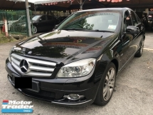 2010 MERCEDES-BENZ C-CLASS C200 CGI 1.8 (A) 1 OWNER LOCAL SPEC