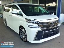 2016 TOYOTA VELLFIRE 2.5ZG Edition Pre-Crash Actual Mileage Crazy Sales Crazy Sales