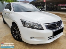 2010 HONDA ACCORD VTI-L 2.0 (A) 1 Owner / Crytal White / High Loan