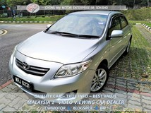 2008 TOYOTA COROLLA ALTIS 1.8 G One Owner , Low Mileage, Acc Free, Call Karen Now 0192534546
