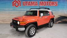 2013 TOYOTA FJ CRUISER 4.0 REVERSE CAMERA ROOF CARRIER KEY START