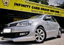 2015 VOLKSWAGEN POLO 1.6 SPORT LINE FULL SERVICE RECORD AS GOOD AS NEW