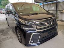 2015 TOYOTA VELLFIRE 3.5 ZG EDITION FULL SPEC SUNROOF JBL FULL LEATHER 360 CAMERA FULL UNREG