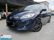 2012 MAZDA 5 2.0L 7 seater mpv 2 power door sunroof navi reverse camera facelift model
