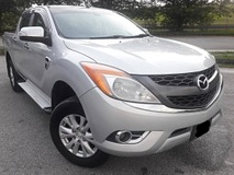 2013 MAZDA BT-50 3.2 FULL SPEC ONE CAREFULL OWNER ORIGINAL PAINT (ONE DAY APPROVAL T & C APPLY)