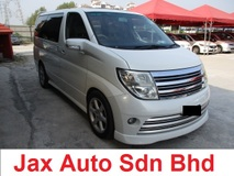 2005 NISSAN ELGRAND HIGHWAY STAR NAVI EDITION leather seat sunroof moonroof