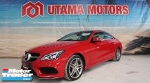 2013 MERCEDES-BENZ E-CLASS E200 AMG SPORT COUPE PANORAMIC ROOF ELECTRIC SEATS PROMOTION