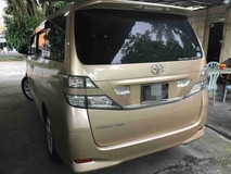 2008 TOYOTA VELLFIRE 2.4Z (A) One Owner 7 seater 2 Power Door