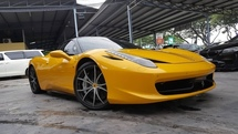 2010 FERRARI 458 ITALIA maintain by naza italia