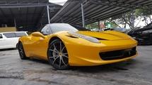 2010 FERRARI 458 ITALIA maintain by naza italia