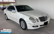 2009 MERCEDES-BENZ E-CLASS Mercedes Benz E250 V6 Avantgarde Auto Facelift Model