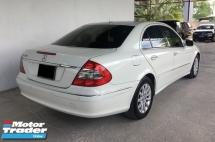 2009 MERCEDES-BENZ E-CLASS Mercedes Benz E250 V6 Avantgarde Auto Facelift Model
