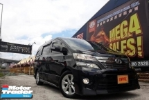 2011 TOYOTA VELLFIRE 2.4 ( A ) Z PLATINIUM TYPE GOLD !! NEW FACELIFT !! LIMITED EDITION !! PREMIUM FULL HIGH SPECS COMES WITH POWER BOOT !! ( WX 3226 X ) 1 CAREFUL OWNER !!