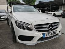 2014 MERCEDES-BENZ C-CLASS C200 2.0 AMG PANAROMIC ROOF POWER BOOT FULL SPEC UNREG 2014