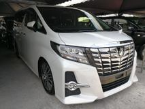 2017 TOYOTA ALPHARD 2.5 SC SUNROOF NEARLY NEW CAR UNREG 2017