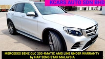2016 MERCEDES-BENZ GLC 250 4MATIC AMG LINE 2.0 ACTUAL YEAR MAKE