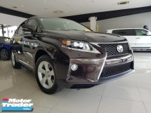 2013 LEXUS RX 270 F-SPORT FACELIFT UNREGISTER
