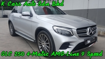 2016 MERCEDES-BENZ GLC 250 4-MATIC AMG-LINE CKD LOW MILEAGE 18K KM DONE FULL SERVICE AND WARRANTY BY HAP SENG STAR UNTIL 2021