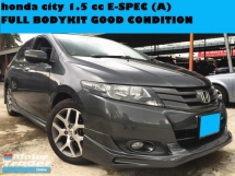 2010 HONDA CITY 1.5 CC E SPEC  (A) WARRANTY ONE YEAR  GOOD CONDITION FULL SPEC