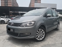 2013 VOLKSWAGEN SHARAN 2.0 TSi (A) 2 POWER DOORS POWER BOOT PANAROMIC ROOF