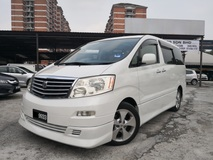 2003 TOYOTA ALPHARD 3.0 MZG EDITION (A) POWER DOOR SUNROOF HOME THEATER