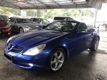 2007 MERCEDES-BENZ SLK SLK200 K 1.8 KOMPRESSOR 2007 REGISTERED 2011 TIP TOP CONDITION