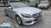2015 MERCEDES-BENZ C-CLASS C200 BLUE EFFICIENCY AVANTGARDE