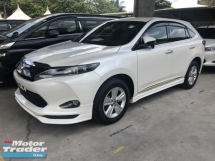 2017 TOYOTA HARRIER 2.0 Valvematic 7-SCVT 4 Surround Camera Automatic Power Boot Auto Power Seat Intelligent Bi LED Smart Entry Push Start Button Multi Function Steering 9 Air Bag Unreg