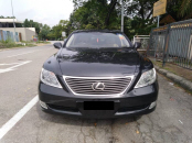 2007 LEXUS LS460 GREY EDITION