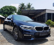 2018 BMW 5 SERIES 530I M-SPORT Brand NEW CAR 100KM only Ready Stock One Unit Left