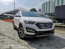 2014 HYUNDAI SANTA FE 2.4GLS ONE LAWYER ONWER ACCIDENT FREE NAPPA LEATHER