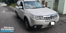 2012 SUBARU FORESTER 2.0XT, AUTO, 4X4, 1 OWNER, LOW KM, TOWN USED, HIGH LOAN, PJ LOCATION, LIKE NEW
