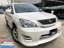 2008 TOYOTA HARRIER 350G