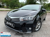 2015 TOYOTA ALTIS 1.8G (A) DUAL VVTI NEW MODEL FULL SERVICE RCD