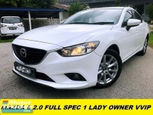 2015 MAZDA 6 2.0 SDN 5EAT 1 LADY OWN TIPTOP CONDITION