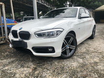 2016 BMW 1 SERIES 118 I sport new facelift 15k km