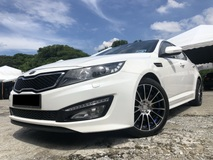 2014 KIA OPTIMA 2.0 EX LADY OWNER DOCTOR / FULL LOAN